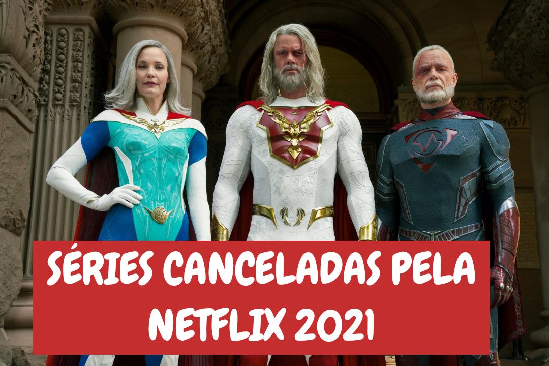 12 séries que foram canceladas pela Netflix em 2021