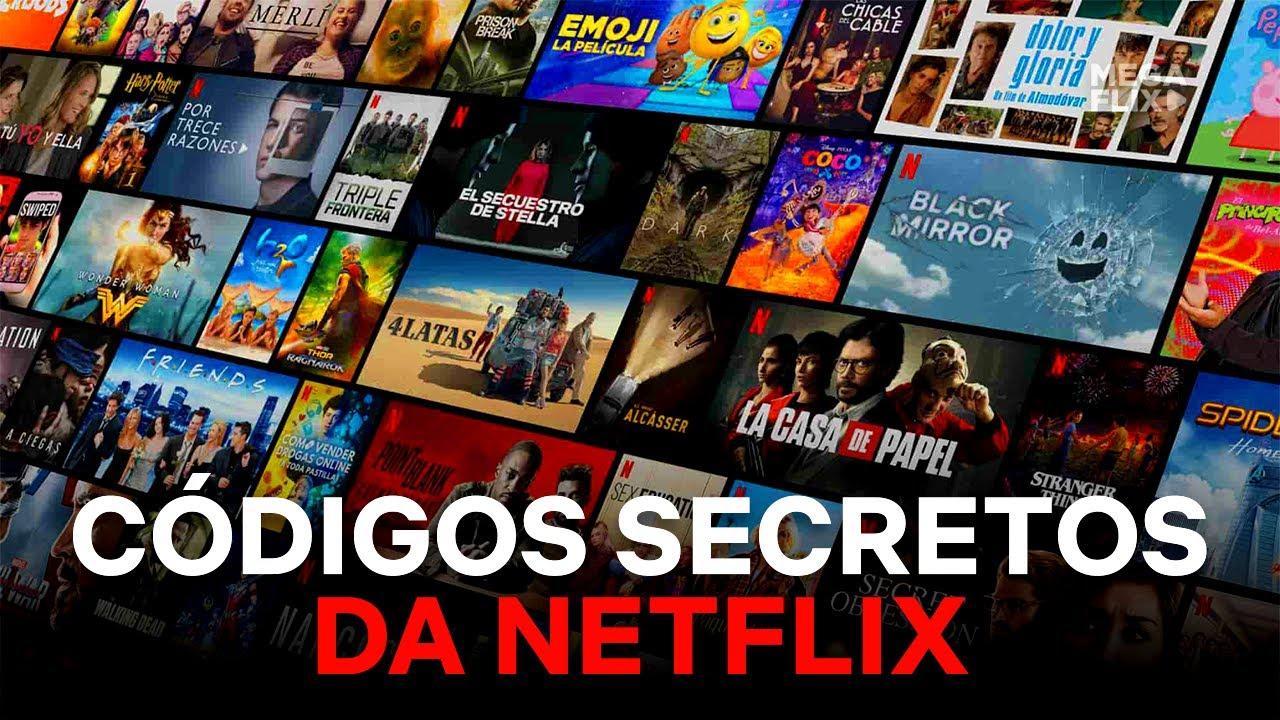 Lista de Códigos Secretos da Netflix